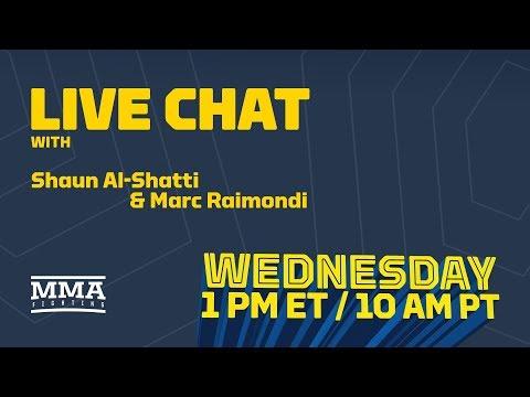 Live Chat: Stipe Miocic Grievances, Brendan Schaub vs. Dana White, Cris Cyborg, More – MMA Fighting
