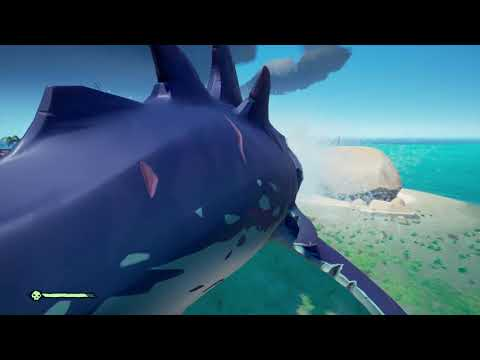 The new extreme sports in Sea Of Thieves – Meg surfing!