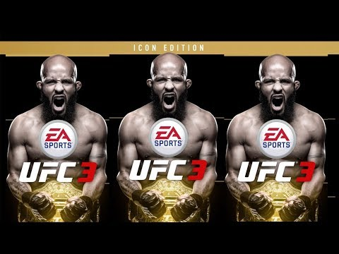 *NEW* UFC 3 ICON EDITION CHAMP PLAYS AS CHAMP FIGHTING CHAMP