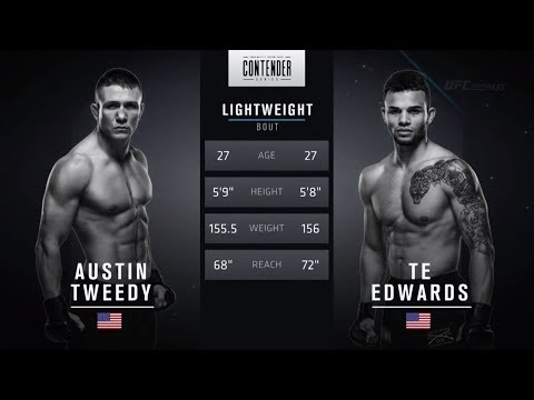 FREE FIGHT | One Shot is All it Takes From Edwards | DWTNCS Week 3 Contract Winner – Season 2