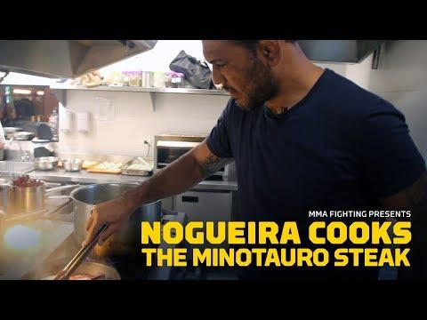 'Chef' Nogueira Cooks the Minotauro Steak – MMA Fighting