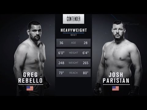 FREE FIGHT | Perfect Spinning Back Fist From Parisian | DWTNCS Week 3 Contract Winner – Season 2