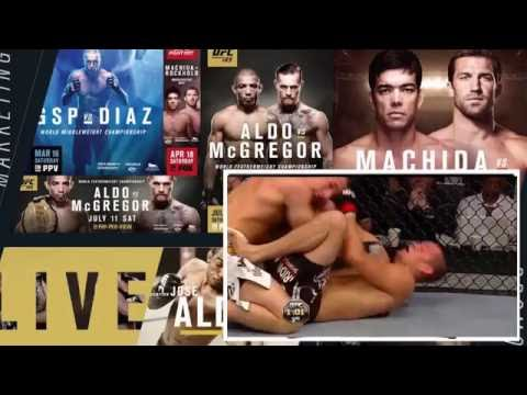 Nate Diaz vs Rory Macdonald FULL FIGHT Night UFC – Ultimate Fighting Championship