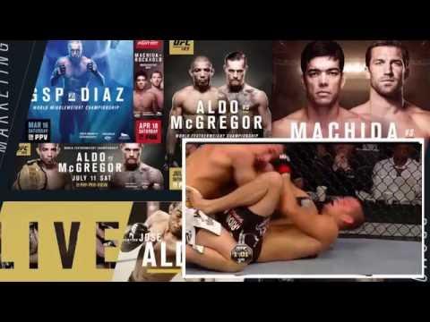 Nate Diaz vs Rory Macdonald FULL FIGHT Night UFC – Ultimate Fighting Championship