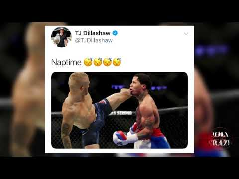 T.J. Dillashaw & Gervonta Davis go back and forth about fighting in the octagon