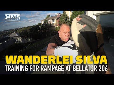 Wanderlei Silva Training for Bellator 206 Fight With 'Rampage' Jackson – MMA Fighting