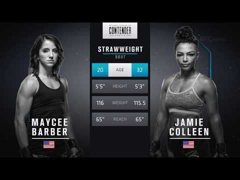 FREE FIGHT   Barber Dominates to Earn UFC Contract   DWTNCS Week 5 Contract Winner – Season 2