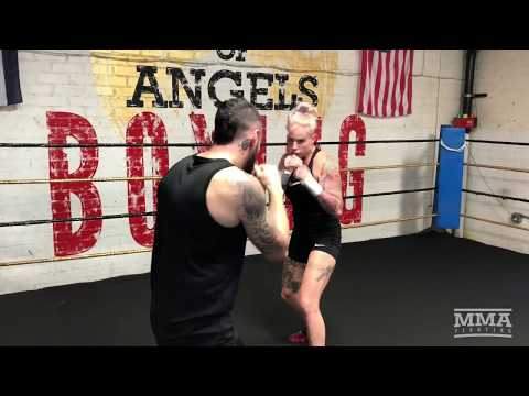 Bare Knuckle FC 2: Bec Rawlings Open Workout – MMA Fighting