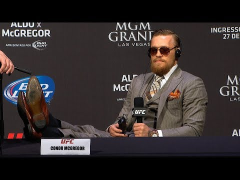Conor McGregor's Best Press Conference Moments