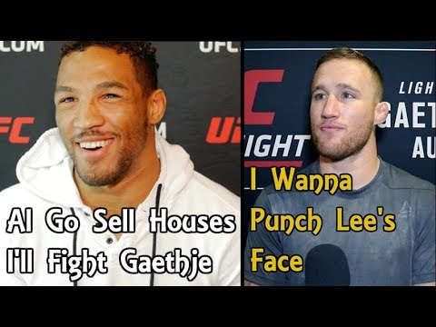 Kevin Lee: Al Iaquinta Go Sell Houses, I'm Fighting Justin Gaethje | Khabib Is Trash
