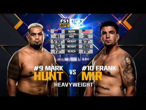 UFC Moscow Free Fight: Mark Hunt vs Frank Mir