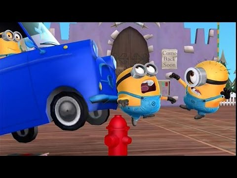 Despicable Me: Minion Rush – EXTREME SPORTS Scene