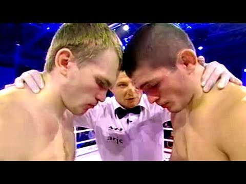 YOUNG Khabib DESTROYS Belarusian MMA CHAMP (Early Fight)