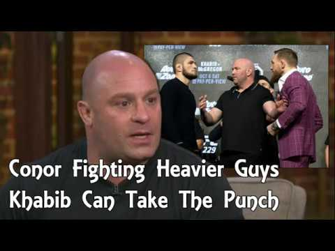 Matt Serra: Conor McGregor Fighting Heavier Guys At Lightweight, Khabib Can Take His Punch