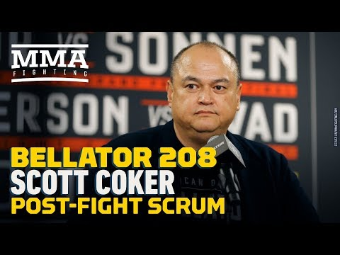 Bellator 208: Scott Coker Post-Fight Press Conference – MMA Fighting