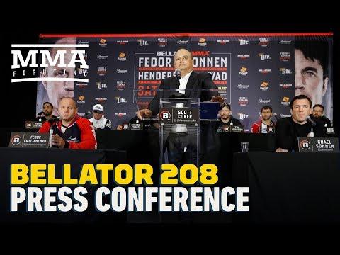 Bellator 208: Fedor vs. Sonnen Pre-Fight Press Conference – MMA Fighting