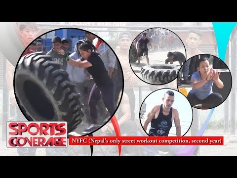 Nepal's Only Street Workout Competition ||  Sports Coverage || Action Sports