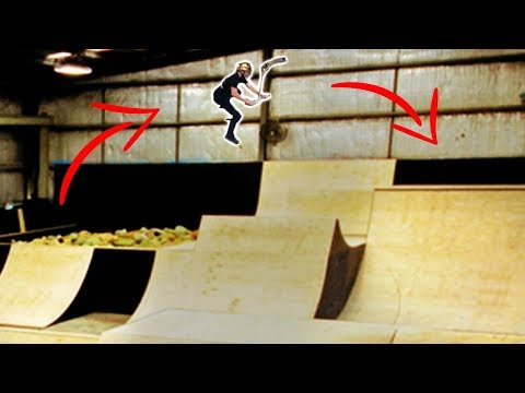 Tricking the biggest gap in my action sports career!