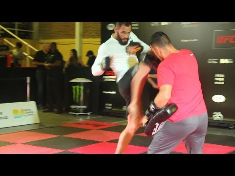 UFC Argentina: Santiago Ponzinibbio Open Workout Highlights – MMA Fighting