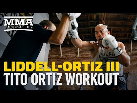 Liddell vs. Ortiz 3: Tito Ortiz Media Workout – MMA Fighting