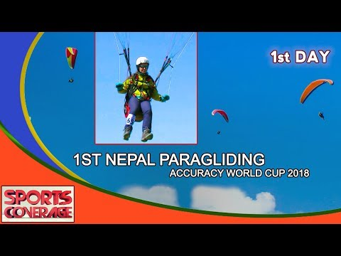 1ST NEPAL PARAGLIDING  ACCURACY WORLD CUP 2018 || Action Sports