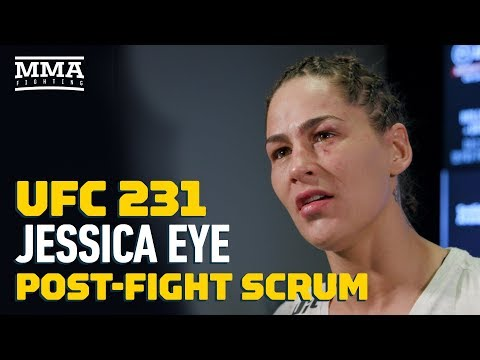UFC 231: Jessica Eye Won't Accept Any Fight But A Title Shot Next – MMA Fighting
