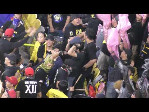 Ultras Malaya (Ekor Harimau Malaya) AFF Suzuki 2018 Final Malaysia vs Vietnam Stadium Bukit Jalil