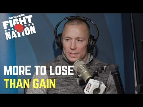 Georges St-Pierre: 'There's More to Lose Than Gain' Fighting Anderson Silva Now | SiriusXM