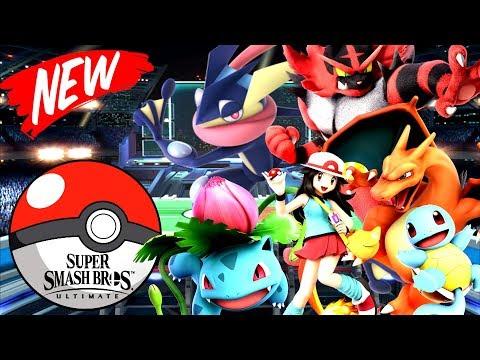 Super Smash Bros Ultimate | POKEMON AND POKEBALLS ONLY! *NO FIGHTING!* | Minecraft