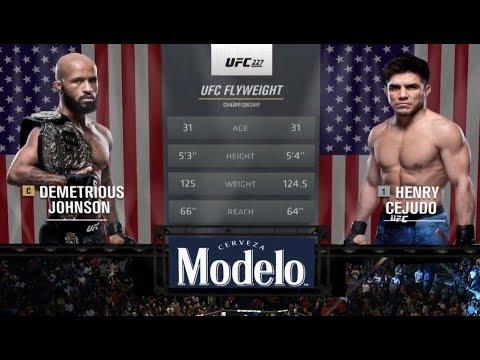 Fight Night Brooklyn Free Fight: Henry Cejudo vs Demetrious Johnson 2