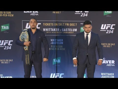 UFC 234: Robert Whittaker – This Will Be My Toughest Fight