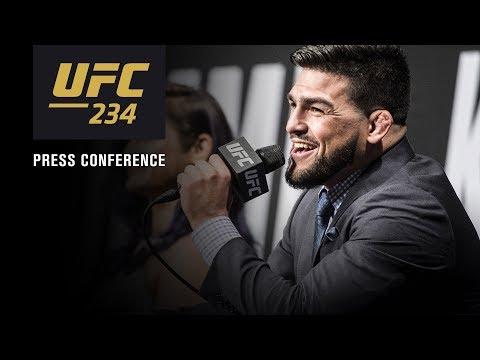 UFC 234: Pre-fight Press Conference