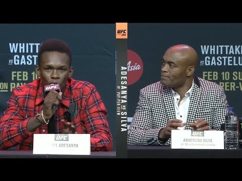 UFC 234: Press Conference Highlights