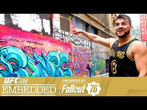 UFC 234 Embedded: Vlog Series – Episode 4