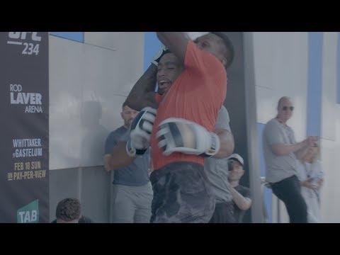 UFC 234: Open Workout Recap
