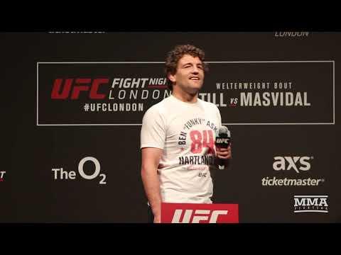 Darren Till Interrupts Ben Askren UFC London Fan Q&A With Double-Fingered Salute – MMA Fighting