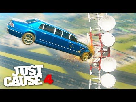 EXTREME SPORTS CHALLENGE! – Just Cause 4 Stunts & Challenges!