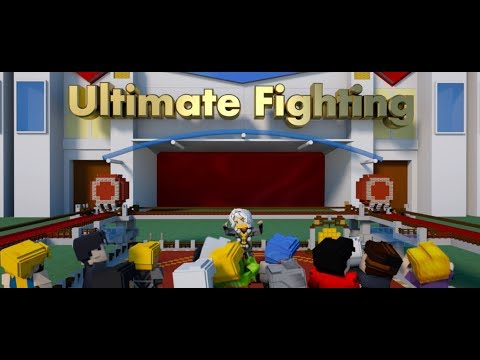 Ultimate Fighting Animation Made by Volunteer Eunice