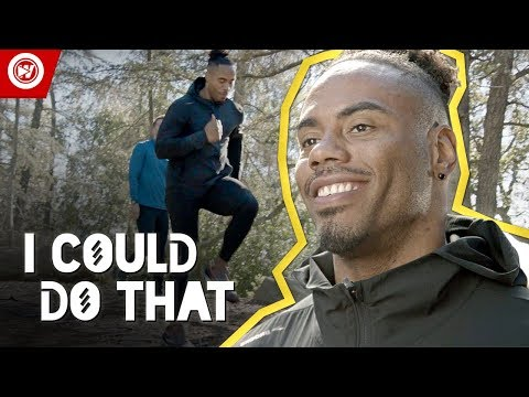 Football Star Attempts EXTREME Pro Running Workout