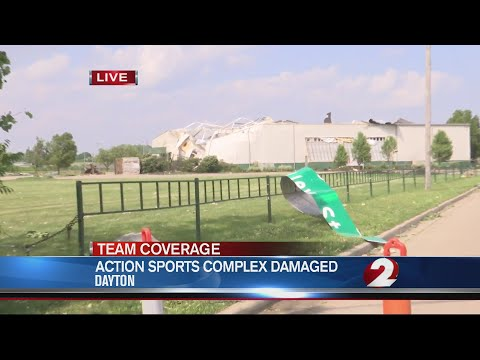 Action Sports Center damaged by storms