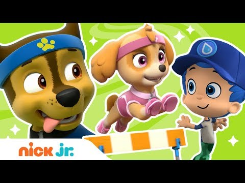 Summer Games 🎾 Extreme Sports w/ PAW Patrol, Bubble Guppies & More! | Nick Jr.