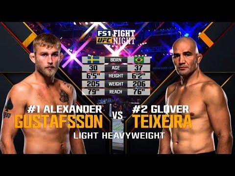 UFC Stockholm Free Fight: Alexander Gustafsson vs Glover Teixiera