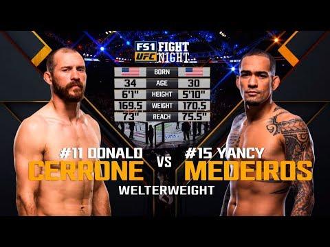 UFC Ottawa Free Fight: Donald Cerrone vs Yancy Medeiros