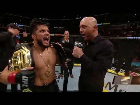 UFC 238: Henry Cejudo Octagon Interview
