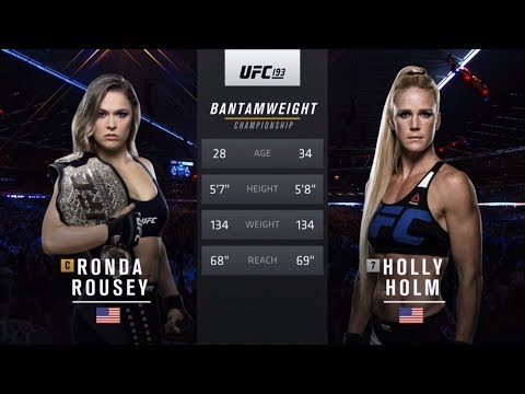 UFC 239 Free Fight: Holly Holm vs Ronda Rousey