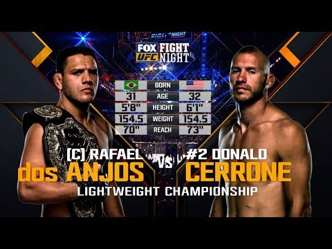 UFC San Antonio Free Fight: Rafael Dos Anjos vs Donald Cerrone 2