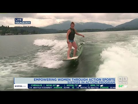 Empowering women through action sports
