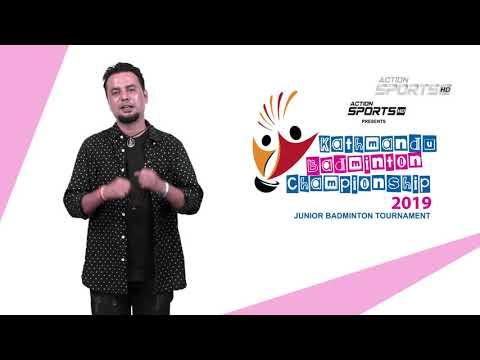 """ Kathmandu Badminton Championship 2019 "" || Sugam Pokhrel || Action Sports"