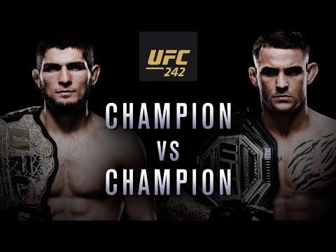 UFC 242: Khabib vs Poirier – Champion vs Champion