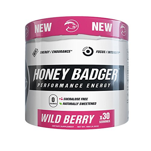 Honey Badger Performance Pre Workout Beta Alanine